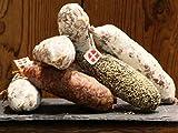 6 Salchichones de Saboya - Cerdo Puro, Ahumado, Avellana, Queso Beaufort, Pimienta, Jabalí - Salchichón Saucisson Gourmet Salami de los Alpes Franceses - 6x 170g