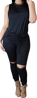 Fixmatti Women 1PC Waisted Long Pant Casual Jumpsuit...