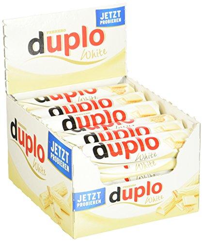Duplo White Einzelriegel, 40er Pack (40 x 1 Riegel à 18,2 g)