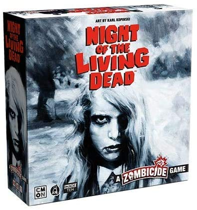CMON: Zombicide: Night of The Living Dead w/ Dead of Night Expansion (Kickstarter Exclusive)