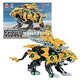 DAEWON ZOIDS Wild ZW 19 Fang Tiger Model Kit Action Figure for Boy Yellow 11.4' x 8.5' x 7.5'