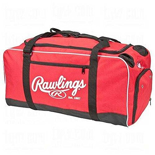 Rawlings Covert Baseball Duffel Bag Size: No Size Scarlet
