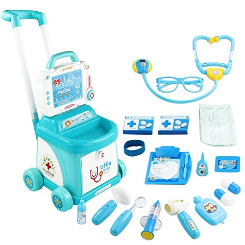 Fajiabao Toddlers Doctors Cart D...