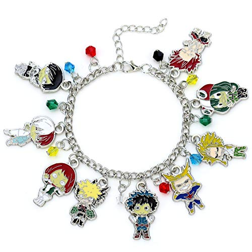 My Hero Academia Fashion Novelty Charm Bracelet Anime Manga Series