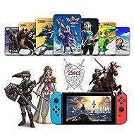 25 PCS NFC Tag for the Legend of Zelda Breath of the Wild/The Legend of Zelda: Skyward Sword HD Comp...