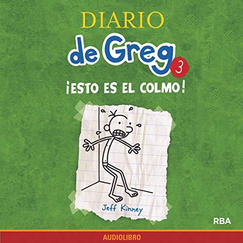 Diseño de la portada del título Diario de Greg 3. !Esto es el colmo!
