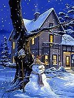 ダイヤモンド刺繍キットクリスマスダイヤモンド塗装動物ダイヤモンド刺繍ダイヤモンドモザイクフルドリルドローダイヤモンドクロスステッチクリスマス家の装飾25 * 30センチ