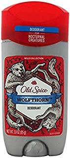 Old Spice Wild Collection Wolfthorn Scent Men's Deodorant 3 Oz