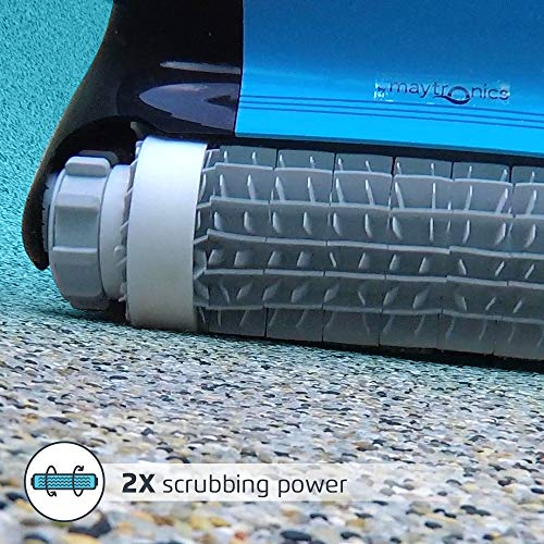 Dolphin Nautilus CC Plus Automatic Robotic Pool Cleaner with Easy To Clean Large Top Load Filter Cartridges and Tangle-Free Swivel Cord, Ideal for In-Ground Swimming Pools Up To 50 Feet