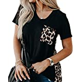 zeyubird Womens Embroidered Tops Casual Floral...