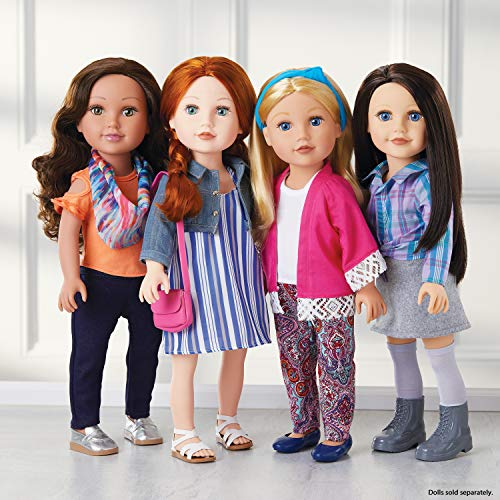 Journey Girls 18' Doll Super Fashion Fun Set  (Amazon Exclusive Mailer)