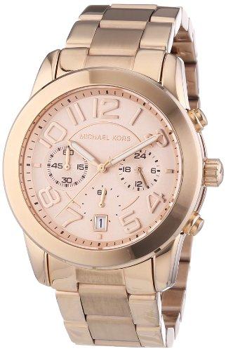 Michael Kors MK5727 - Reloj de Cuarzo para Mujer, con Correa de Acero Inoxidable, Color Dorado
