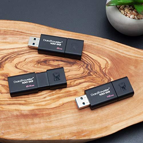 Clés USB Kingston Digital Data Traveler 100 G3 64GB(DT100G3 / 64GB) - 3
