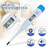 Digitales Fieberthermometer, elektronisches LCD-Display Orales Thermometer Soft Head Medizinisches...