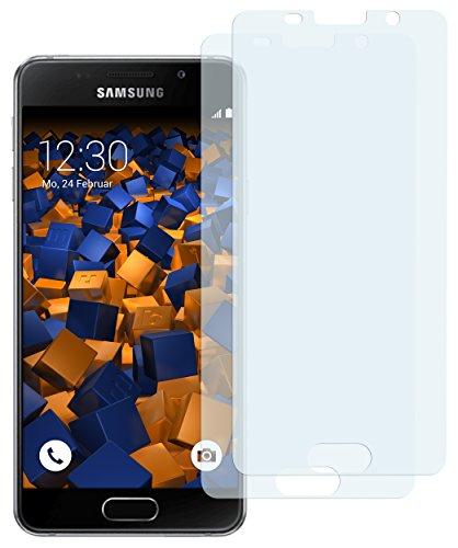 mumbi Schutzfolie kompatibel mit Samsung Galaxy A3 2016 Folie klar, Bildschirmschutzfolie (2X)