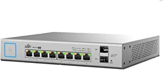 Ubiquiti Networks 8-Port UniFi Switch، مدارة PoE+ Gigabit Switch مع SFP، 150W (US-8-150W)