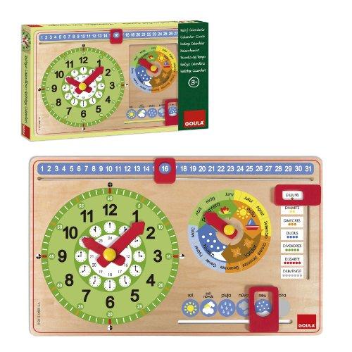 Goula - Reloj Calendario catalán 51316