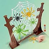 Daxoon Arañas saltarinas de la diversión de la araña Que despide para el Juego de Escritorio Juguete Interactivo de Padres e Hijos