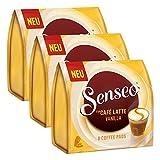Senseo Dosettes Café Latte Vanilla, Vanille Café au Lait, Café au Lait Pad, 24Pads
