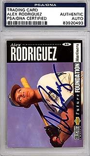 alex rodriguez upper deck collector's choice rookie card