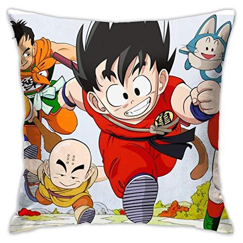 magic ship Fundas de almohada duraderas Dragon Ball, fundas de almohada rectangulares, fundas de almohada decorativas, fundas de almohada