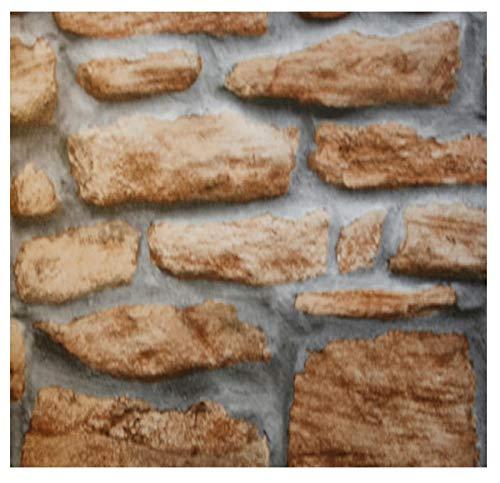 i.stHOME Klebefolie Steinoptik Mauer rustikal - Möbelfolie Dekorfolie 45x200 cm - Selbstklebende Folie