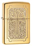 "Genuine Zippo windproof lighter with distinctive Zippo ""click"" All metal construction; windproof design works virtually anywhere Refillable for a lifetime of use; for optimum performance, we recommend genuine Zippo premium fluid, flints, and wicks Ma..."