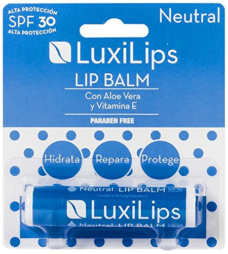 LUXILIPS bálsamo protector labial spf 30 blíster 1 ud