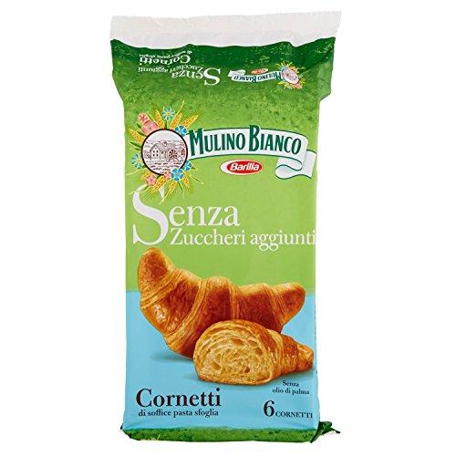 Mulino Bianco Cornetto Senza Zucchero - 4 confezioni da 228 gr [24 cornetti]