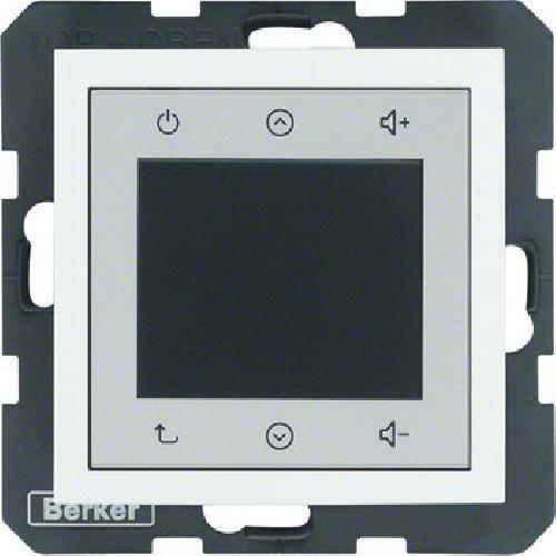 Berker Radio Touch 28848989 polarweiß glänzend B.3;B.7;S.1 Elektronik-Gerät für Installationsschalterprogramme 4011334412434