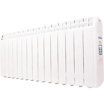 farho Radiador Eléctrico Bajo Consumo XP (Xana Plus) 1650W (15) · Emisor Térmico con Termostato Digital Programable 24/7 · WiFi Opcional · Ideal para Estancias hasta 25m2· 20 AÑOS DE GARANTÍA