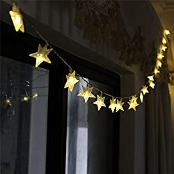 Star String Decoration Light