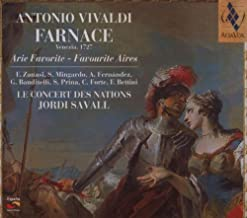 Farnace: Arie Favorite Favourite Aires