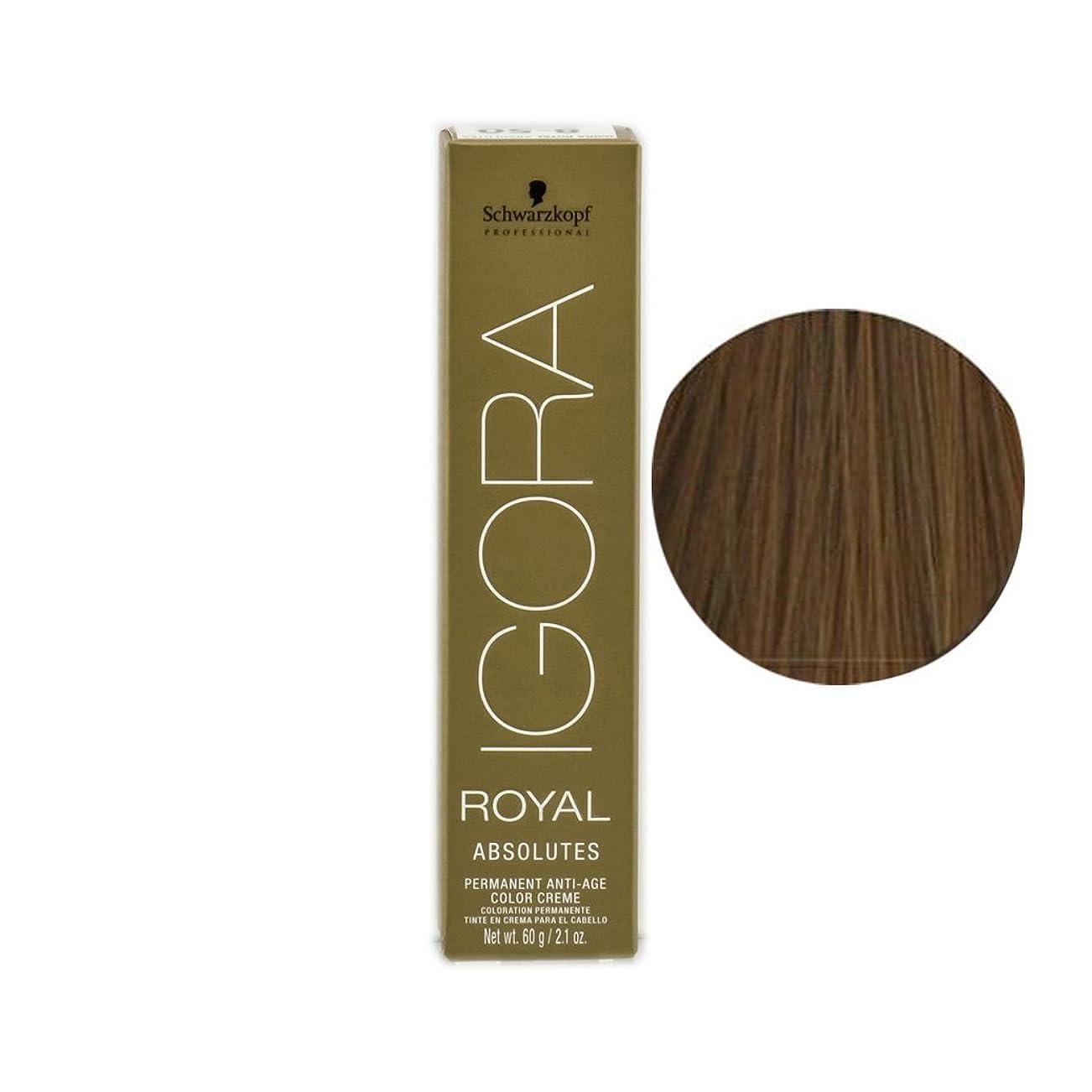 冬アルファベット順廃止するSchwarzkopf プロフェッショナルIGORAロイヤルアブソリュート髪の色、 8月7日、ライトブロンドナチュラル銅