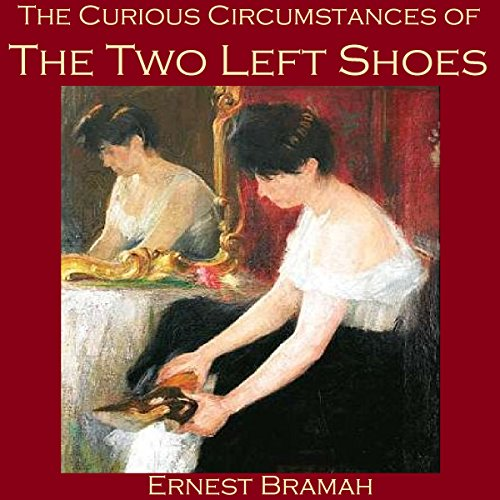 The Curious Circumstances of the Two Left Shoes audiobook cover art