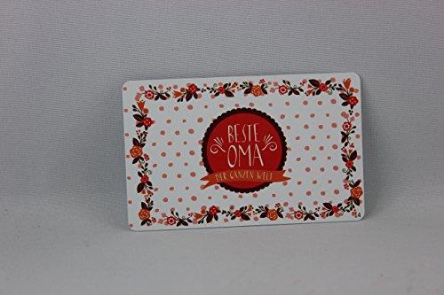 Sheepworld, Gruss & Co - 57242 - Pocketcard Nr. 14, Beste Oma der ganzen Welt , PVC