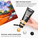 Immagine 1 arteza colori acrilici professionali set