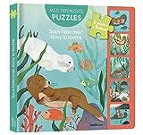 Sous l'eau avec Kimy la loutre : Avec 5 puzzles de 9 pièces
