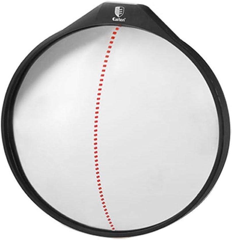 Fuhu 10 Inches Wide Angle Conve 360-degrees Max 53% OFF Training Dallas Mall Golf Mirror