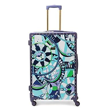 MacBeth Women's 28 inch Luggage, Navy