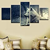 aicedu Yuanyuan Art Wall Painting 5 Panel Leinwand Poster