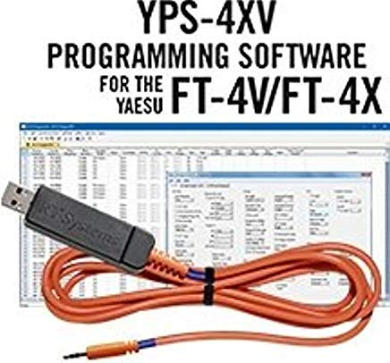 RTSystems Yaesu FT-4XR FT-4X FT-4V Programming Software and USB Cable for The FT4X / V Series Transceivers!