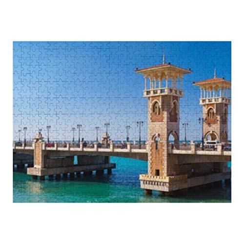 Stanley Bridge 400 metros de largo egipcio - 500 rompecabezas para adultos y para niños de 12 años en adelante, varios