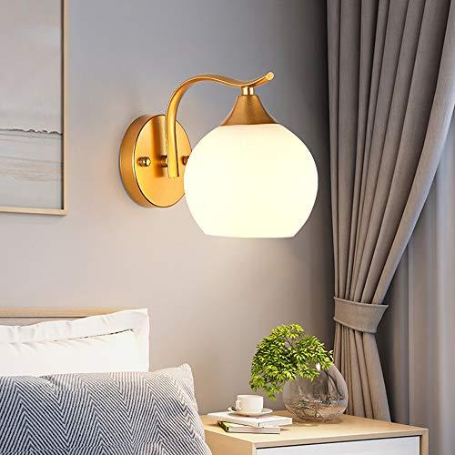 VRPBOB New Modern Minimalist Bedside Wall Lamp Led Bedroom Creative Wall Lamp Corridor Staircase Aisle Lamp Houses, Patios, Garages, Doorways Wall Lamp