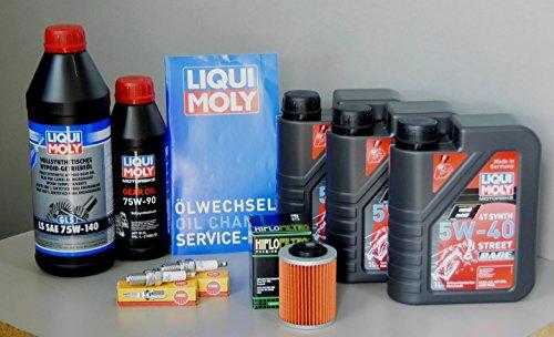 MotorFunSports Wartungs Set Can Am Renegade 500 Öl Ölfilter Zündkerze Service Ölwechsel