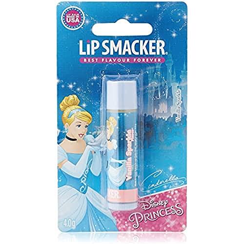 Markwins Lip Smacker Disney Princess Cinderella Lippenpflegestift mit großartigen VanilleGeschmack
