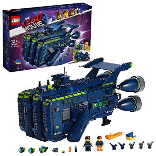 LEGO Movie - Rexcelsior Set de construcción de Nave de Juguete Inspirada en la LEGO, Película, incluye Minifigura de Rex, Novedad 2019 (70839)