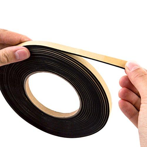 BESTOMZ 1.7M - 2M Dichtungsband Antifouling Dichtband Streifen Küche Kochfeldern Ceranfeld Badezimmer Werkzeug (Schwarz)