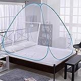 Etophigh Moustiquaire pliable, lit simple, pop up, tente d'installation de tente de camping, réseau pour...