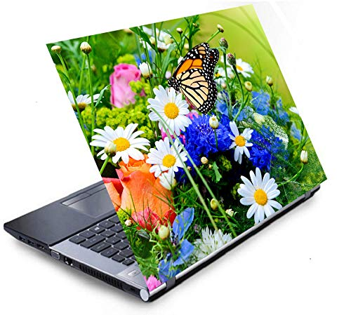 BOTANIX Laptop Skins/Sticker/Vinyl/Cover 14 - inches HD Quality Decal Fits Dell,Hp,Lenovo,Toshiba,Acer,Asus and for All Models Upto 14 inches (Multicolor) GQ234